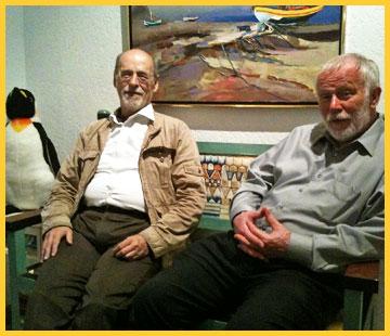 Carlo Jager with Sander van der Leeuw