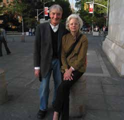 Thomas Houlon and Patty Barnes