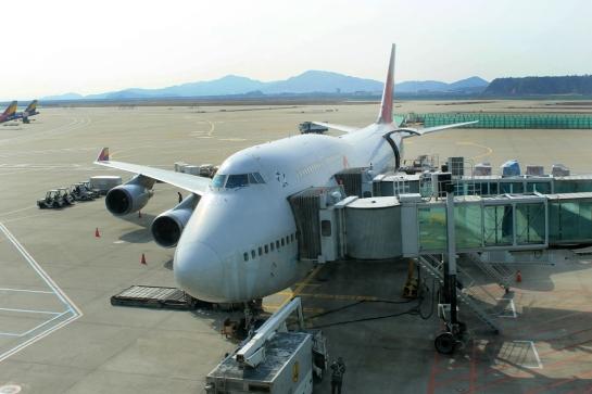 Boarding 747 1