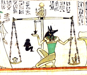 "Working Title/Artist: Section from the ""Book of the Dead"" of NanyDepartment: Egyptian ArtCulture/Period/Location: HB/TOA Date Code: 03Working Date: 1040-945 B.C. Digital Photo File Name: DT11633.tif Online Publications Edited By Steven Paneccasio for TOAH 3/4/15"