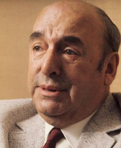 Pablo Neruda (1904-1973), Chilean writer, France, 1971. (Photo by Jean-Regis Rouston/Roger Viollet/Getty Images)